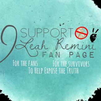 Photo Logo I Support Leah Remini Fan Page 7.24.18 wee